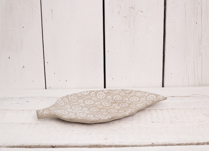 Gorgeous cement leaf dish. Perfect decor for your home, on it's own or as a set!