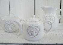 Ceramic Teapots, Jugs, Mugs and Dishes