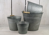 Zinc Planters and Containers