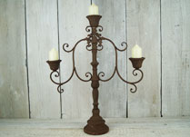 Lanterns, Candelabras and Candle Holders