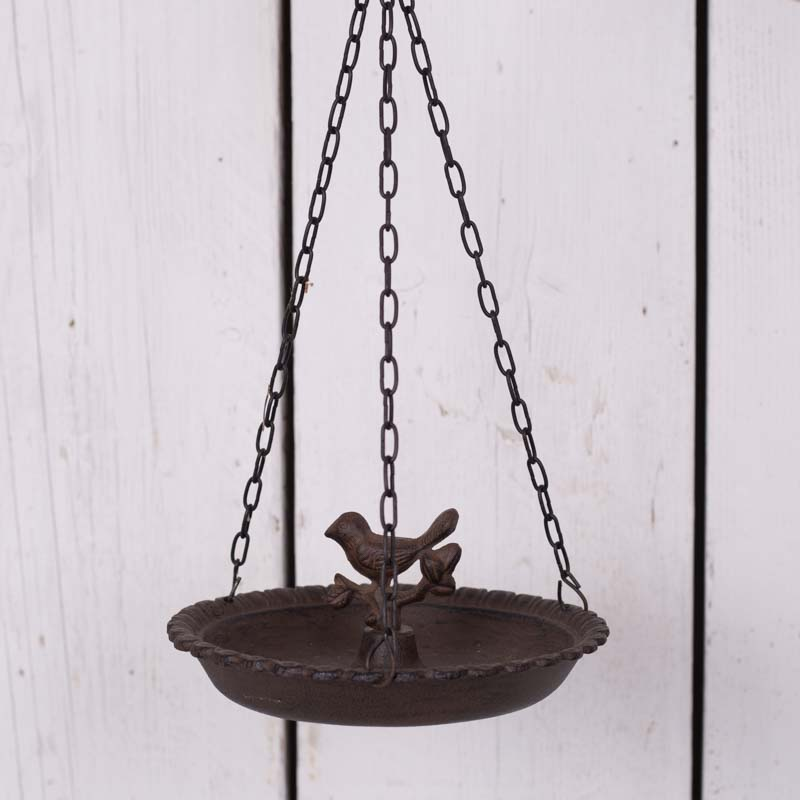 Lovely cast iron bird feeder. Great for your garden!