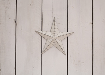 Beautiful metal star decoration. Perfect Christmas Decoration!