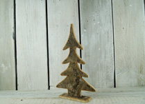 Natural and Rustic Birch Bark Christmas Tree
