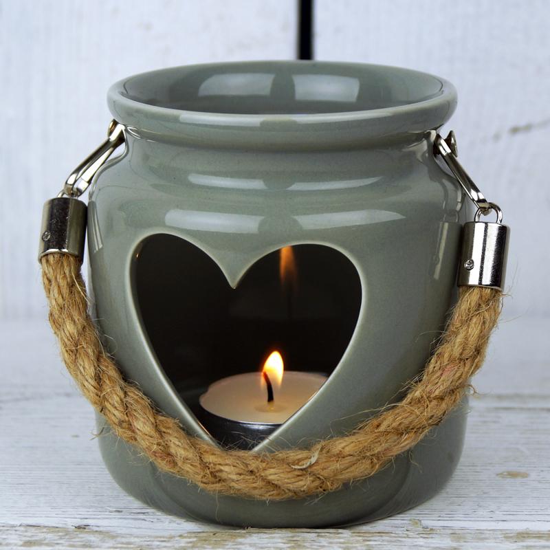 Pot Tealight Satchville Gift Co Ceramic Candle Holder