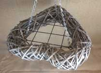 Hanging Willow or Rattan Frames