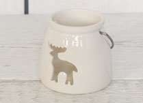White Porcelain Tealight Holder