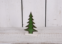 Small Green Dolomite Tree Decoration