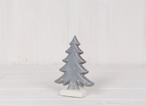 Small Ceramic Tree with Snowflake Design