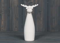 Tall and Round Deer Figure
