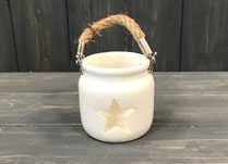 Tealight with Star Cut Out