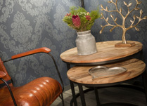 Wooden and Metal Furniture