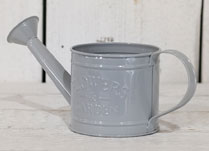Dove-Grey Decorative Watering Can