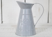 Large Dove-Grey Decorative Jug
