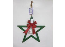 Metal Hanging Star Decoration
