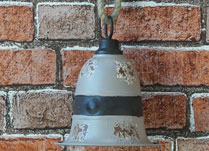Pale Grey Bell Decoration