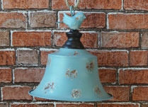 Pale Blue Bell Decoration