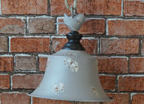 Pale Grey Bell Wedding Venue Decoration