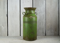 Small Green Milk Churn