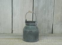 Small Zinc Milk Churn
