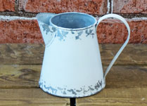 Small Vintage Style White Jug