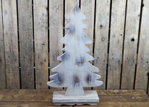 Small Vintage White Wooden Tree