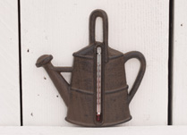 Cast Iron Watering Can Thermometer