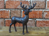 Small Iron Deer Ornament