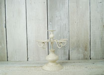 Antique Cream Candelabra