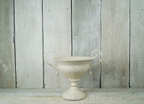 Antique Cream Urn