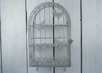 Decorative Cages with Butterfly Design