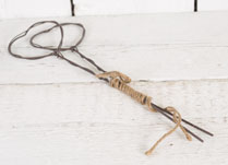 Pegs and string - perfect gift for the keen allottment owner