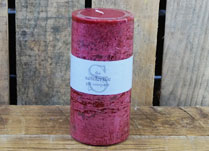 Festive Spiced Apple Scented Pillar Candle