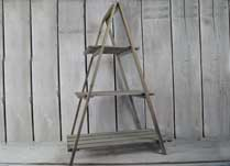 'A' Frame Wooden Plant Stand