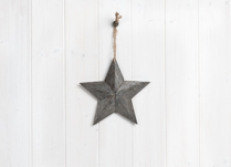 Beautiful greywashed wooden star