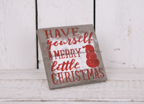 Have Yourself a Merry Little Christmas Frame