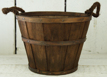 Rustic Chestnut Brown Planter