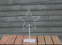 LED Standing Star detail page