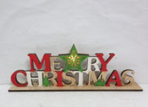 "Colourful ""Merry Christmas"" Sign"