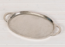 Oval Metal Dish or Tray