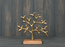 Gold Tree of Life 22cm detail page
