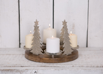 This stunning forestry setting tealight holder would make a wonderful centrepiece