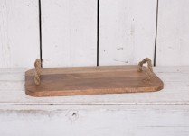 Lovely mango wood tray, great for serving your hot drinks and treats this Christmas!