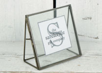 Small Glass Picture Frame