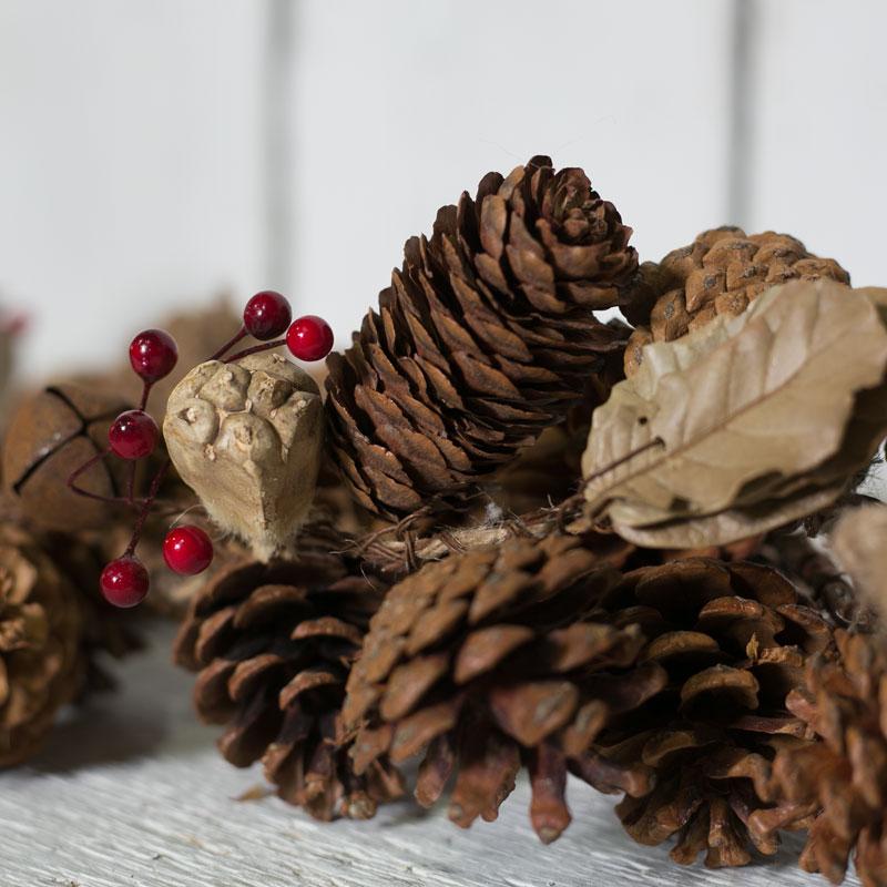 Christmas Garland Satchville Gift Co Rustic Christmas