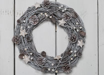 Christmas Wreaths detail page