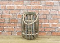 Wicker lantern (small)