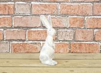Tall Standing Polyresin Hare