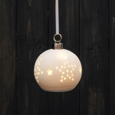 Hanging Ceramic Bauble