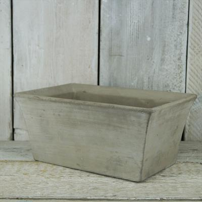 Tapered stone trough