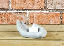 Concrete Hand Tealight Holder